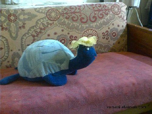Готовая подушка Черепаха