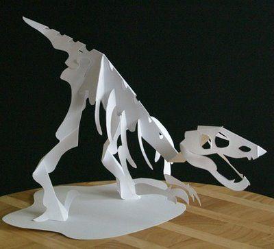 Дракон из бумаги