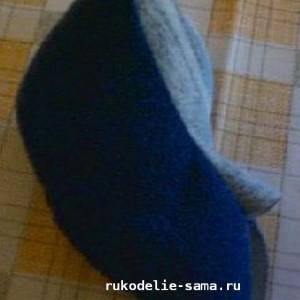 Голова - готовая деталь к декоративной подушке