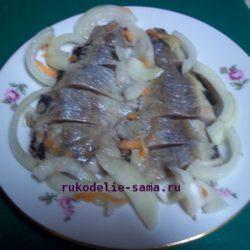 Рецепт приготовления маринованной сельди