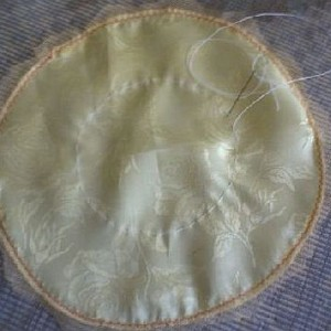 Заготовка шляпки для декоративной подушки