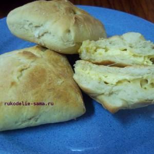 готовые пирожки с сыром