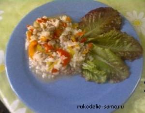 перец с рисом и фаршем
