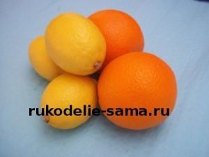 цитрусовые для приготовления варенья