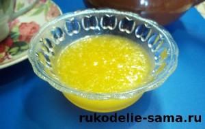 варенье из апельсина или лимона