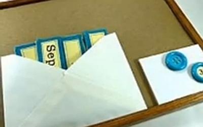 конверт с табличками месяцев