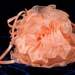сумочка для невесты из розового шелка