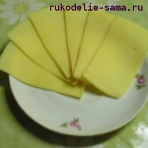 Сыр для гамбургера