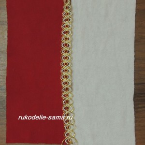 Сшивание деталей подушки в стиле печворк