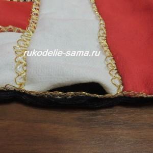 Отверстие для выворачивания заготовки подушки