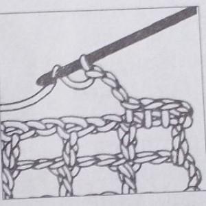 Филейное вязание убавление квадратиков