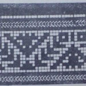 Рисунок узора для вязания крючком или спицами