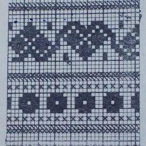Узор для вязания спицами