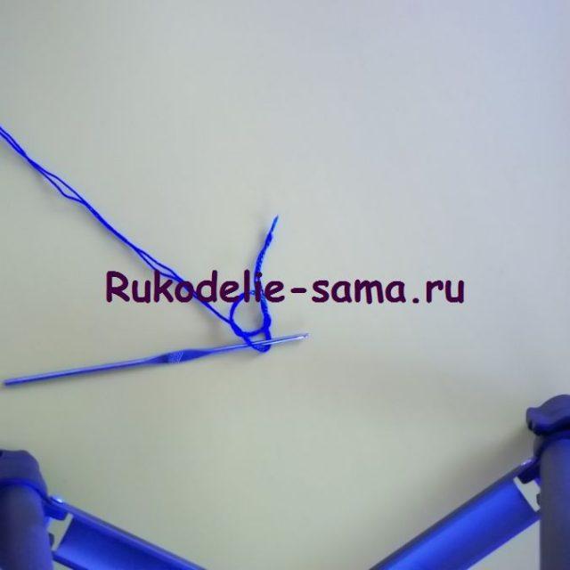 Игольница вязаная крючком-фото1