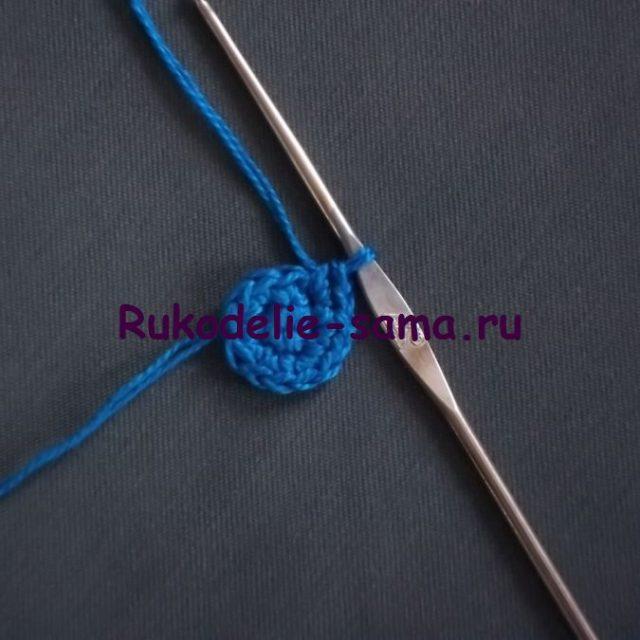 Игольница вязаная крючком- фото 10