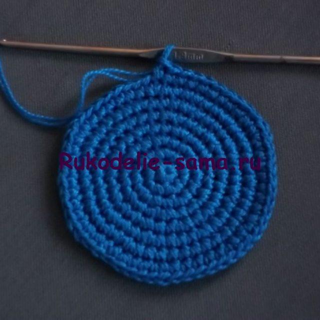 Игольница вязаная крючком- фото 11