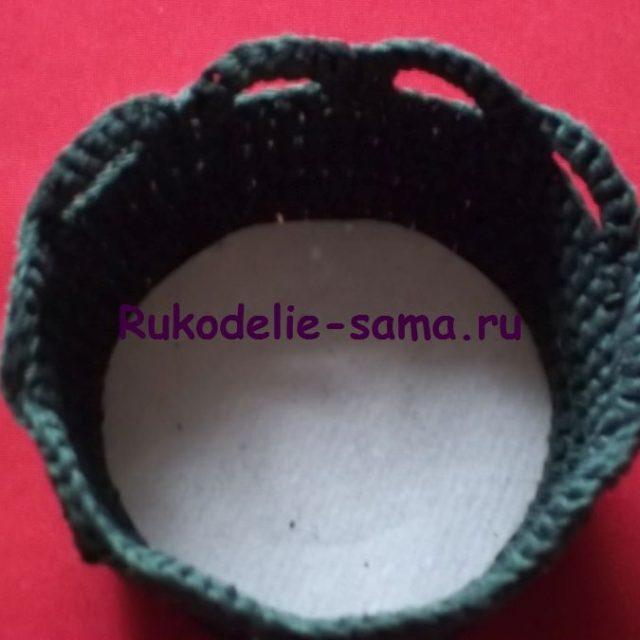 Игольница вязаная крючком- фото 16