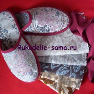 Женские домашние тапочки-фото 11