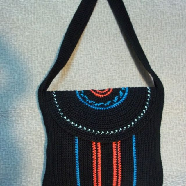 Летняя сумка с длинной ручкой фото 2