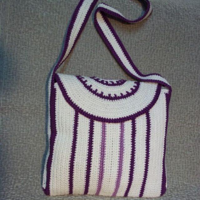 Летняя сумка с длинной ручкой фото 3