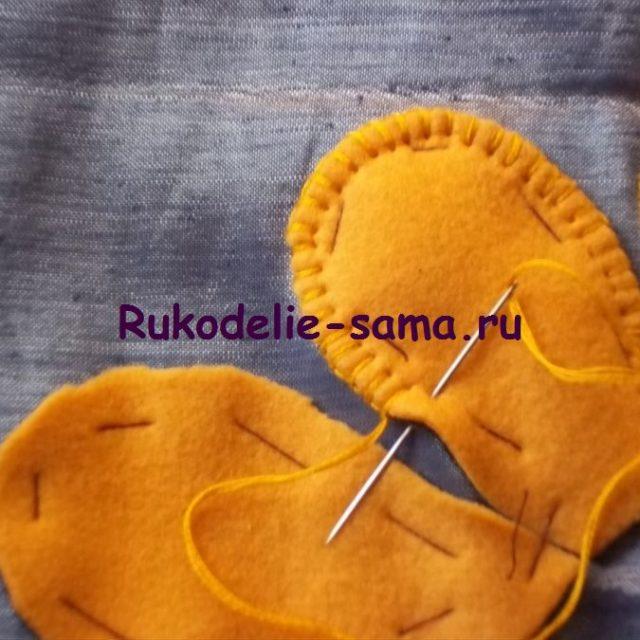 Вышивка петельный шов фото 4