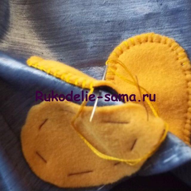 Вышивка петельный шов фото 5