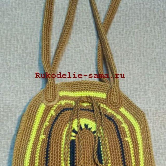 Женская сумка с длинными ручками фото 13