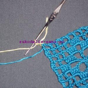 Лоскутное вязание-10