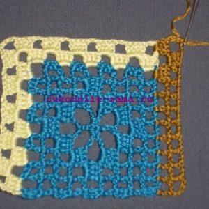 Лоскутное вязание-13