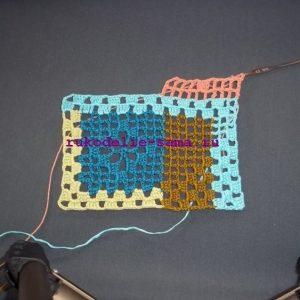 Лоскутное вязание-16