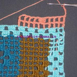 Лоскутное вязание-17