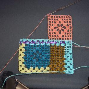 Лоскутное вязание-19