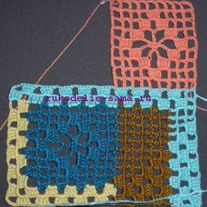 Лоскутное вязание-20