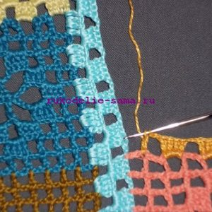 Лоскутное вязание-23