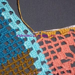 Лоскутное вязание-24