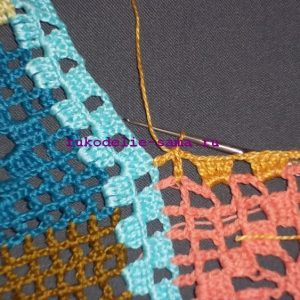 Лоскутное вязание-26