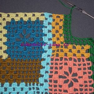 Лоскутное вязание-29