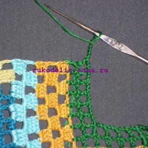 Лоскутное вязание-30