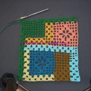 Лоскутное вязание-31