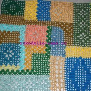 Лоскутное вязание-32