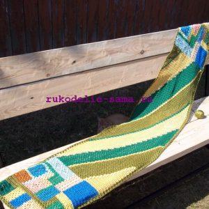 Лоскутное вязание-39