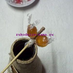 Букет из конфет 05
