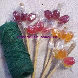 Букет из конфет 08