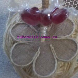 Букет из конфет 09