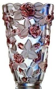 низкая декоративная ваза для цветов