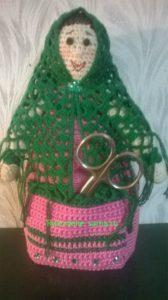 кукла-помощница с кармашком