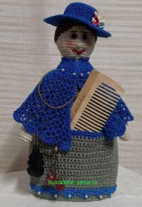 Кукла-помощница в шляпке-2