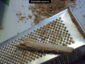 делаем стружки из осины