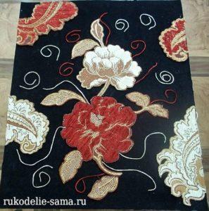 декоративное панно из ткани
