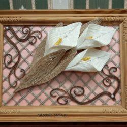 Декоративное панно своими руками украшение интерьера